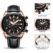 Chronograph Leather Business Men Watch | Watches for sale in Greater Accra, Achimota