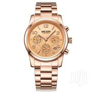 Luxury Brand Ladies Sport Wrist Watch Rose Gold | Watches for sale in Greater Accra, Achimota