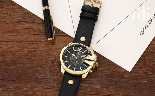 Archive: Big Dial Curren Leather Mens Wrist Watches