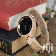 Ladies Wooden Watch With Calendar Layout | Watches for sale in Ashanti, Kumasi Metropolitan