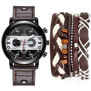 Luxury Leather Watch With Bracelet | Watches for sale in Greater Accra, Adenta Municipal