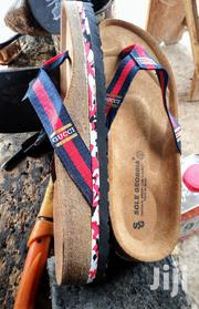 Quality Ghanaian Made Multicoloured Gucci Slippers. | Shoes for sale in Brong Ahafo, Dormaa Municipal