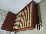 Two In One Brown Bed Double For Sale | Furniture for sale in Greater Accra, Accra new Town